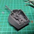 Télécharger modèle 3D gratuit Nimrod, canon anti-aérien automoteur hongrois de la Seconde Guerre mondiale, Remix de la tourelle, Wrecker