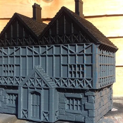 Télécharger STL gratuit Manoir de style Tudor, Wrecker