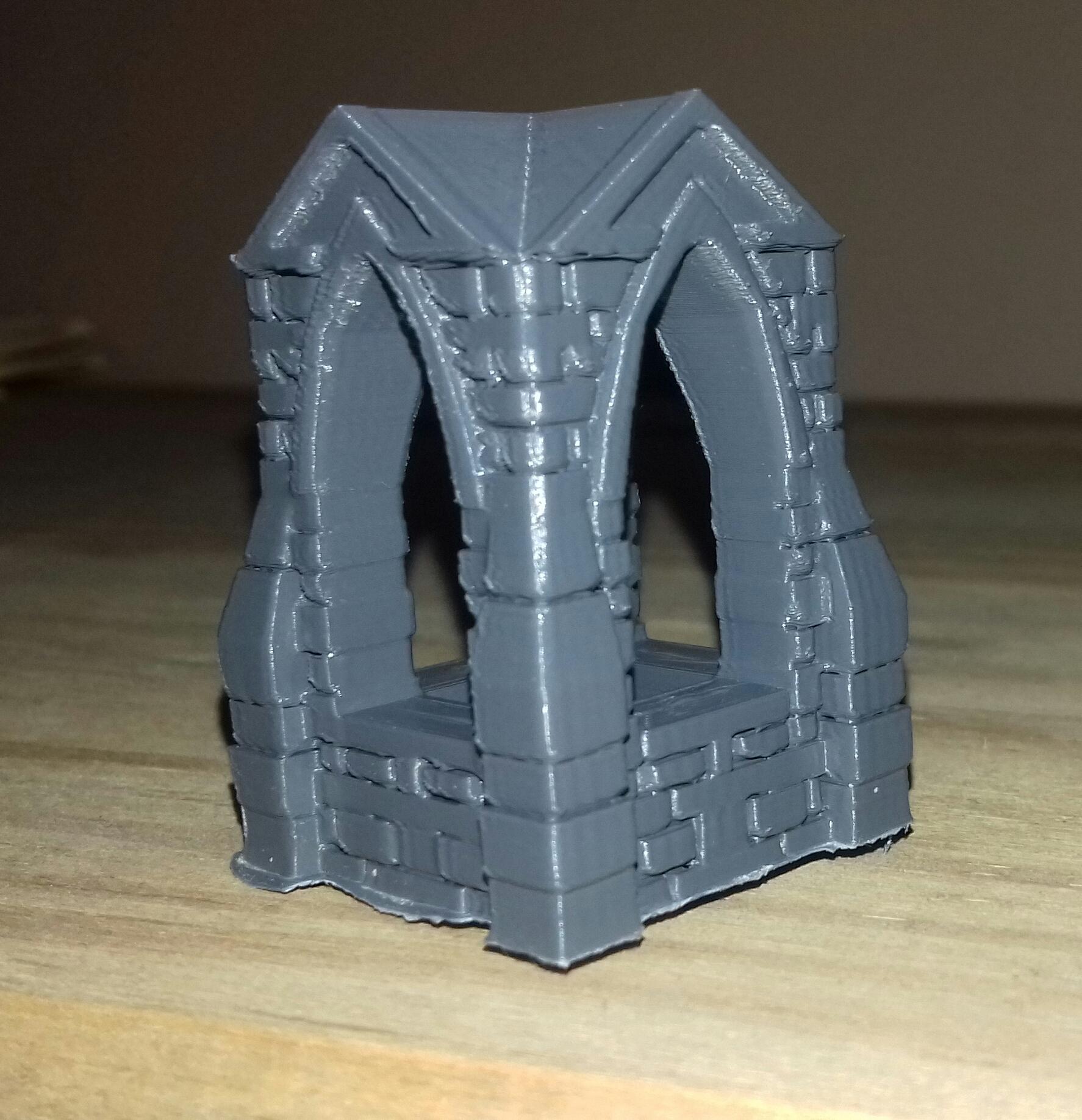 shrine_bare.jpg Download free STL file 28mm Shrine • 3D printable template, Wrecker