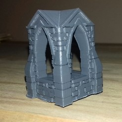 shrine_bare.jpg Download free STL file 28mm Shrine • 3D printable template, Wrecker