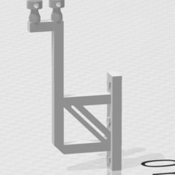 potence pour facade 2 fils.PNG Download STL file 2-wire electric gallows for HO facades • 3D printing design, beersaertsherve4189