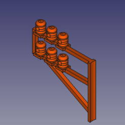 potence 6 fils HO.PNG Download STL file 6-wire electric gallows HO • Design to 3D print, beersaertsherve4189