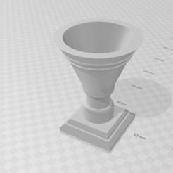 Download 3D printer designs Flower basin SNCB HO, beersaertsherve4189