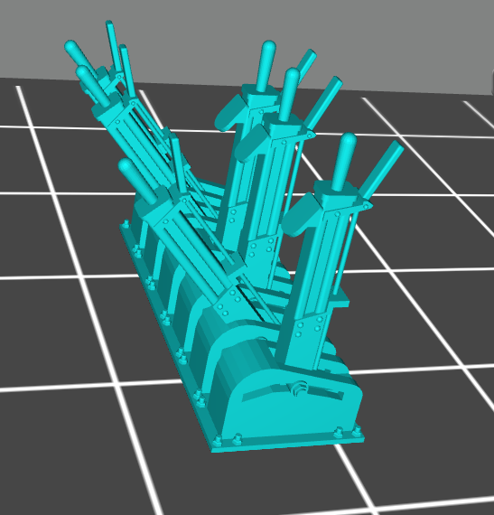 levier saxby.PNG Download STL file 6 Saxby HO lever • 3D printing model, beersaertsherve4189