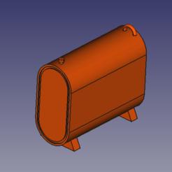 Download STL file single fuel oil tank HO parrois, beersaertsherve4189