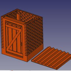 Download 3D printer model WC HO old outdoor, beersaertsherve4189
