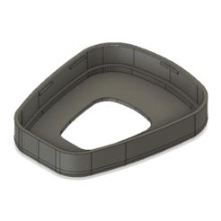 Download 3D printing templates Filter Cap (3M 501) for 3M Mask, hsampot