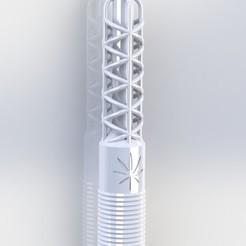 Descargar modelo 3D gratis Twist Hookah Mouthpiece, keanugil