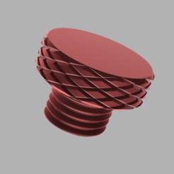 Descargar modelo 3D gratis Enchufe del espejo universal de la motocicleta M10, oscarfch