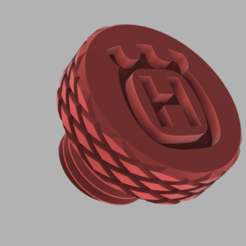Imprimir en 3D gratis Tapones de espejo Husqvarna M10, oscarfch