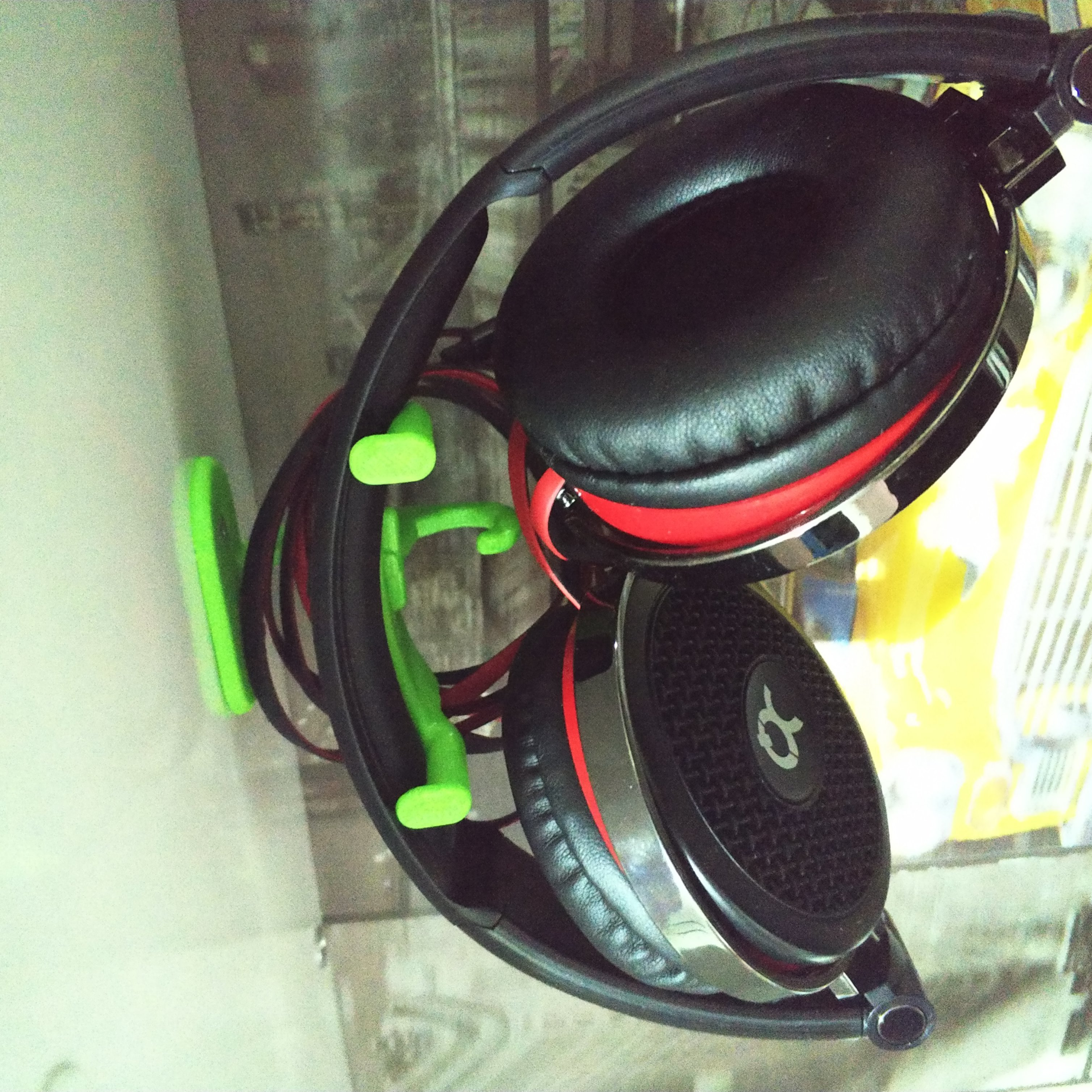 headphone holder.jpg Download free STL file headphone holder • 3D print template, Cihan_Serbest