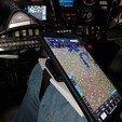 Download free 3D model iPad / Tablet kneeboard for aviation, monsenrm