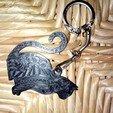 Download free STL file Cat key ring • 3D print design, fredouille1965