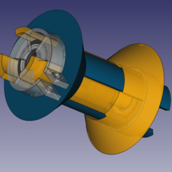 Download free STL file Filament spool holder (yes another one) • Model to 3D print, RJ11
