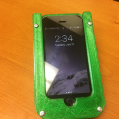 Download free 3D print files iphone 5s holster, shawn11