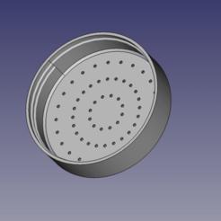 Download free 3D printer model Watering Can Spout Cap, RJ11