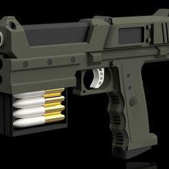 Télécharger fichier impression 3D gratuit L'Etendue - Les pistolets Ashfords, stevespropshop