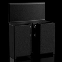 magholders.PNG Download STL file Dredd 2012 9mm Mag Holders • 3D printer model, stevespropshop