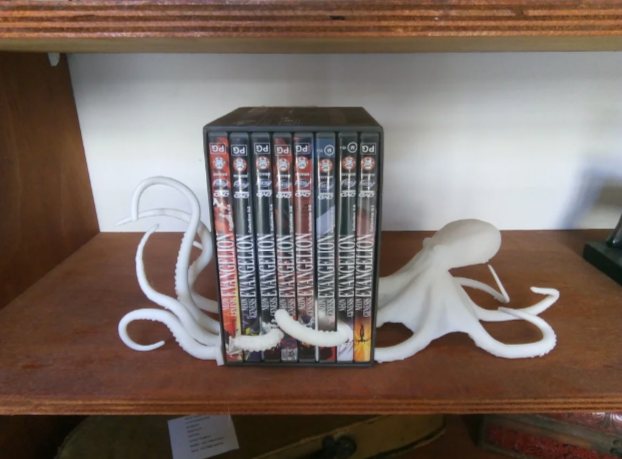 octoprint.PNG Télécharger fichier STL gratuit Serre-livres sur le poulpe • Modèle à imprimer en 3D, o4saken