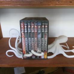 octoprint.PNG Download free STL file Octopus book end • 3D printer template, o4saken
