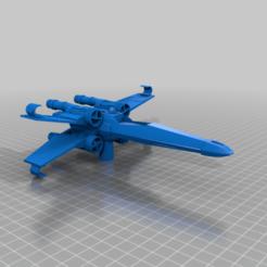 t65_x-wing-atc-p.png Télécharger fichier STL gratuit Porte-stylo - T65 X-Wing Fighter (guerre des étoiles) • Design pour impression 3D, o4saken
