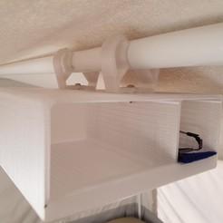 20180513_115505.jpg Download free STL file Hanging Cubby Shelf • 3D printable model, Hobb3s