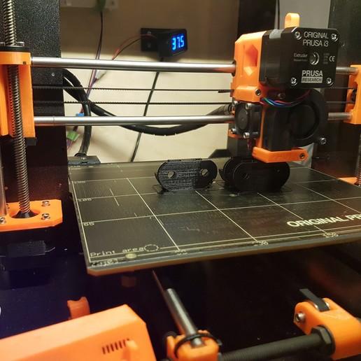 20170827_211819.jpg Télécharger fichier STL gratuit Adaptateur pivotant pour tiroir à chaussures IKEA renforcé - fixe • Design imprimable en 3D, Hobb3s