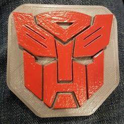 Descargar STL gratis La insignia de los Autobots, Hobb3s