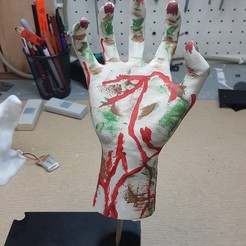 20170924_163431.jpg Download free STL file Moving Zombie Hand • 3D printer model, Hobb3s