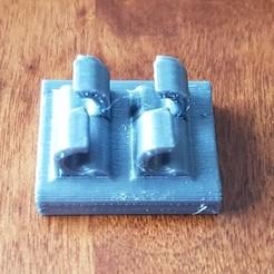 20190330_153552.jpg Télécharger fichier STL gratuit Clip magnétique 2 pour câble • Modèle imprimable en 3D, Hobb3s