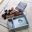 20190119_155022.jpg Télécharger fichier STL gratuit Boîte de stockage de Carrom • Modèle imprimable en 3D, jp_math