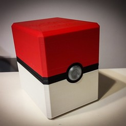 Download free STL file Magnetic PokeBox • 3D printer object, jp_math