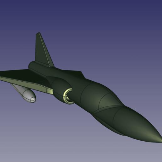 freecad2.png Télécharger fichier STL gratuit Jouet Mirage 2000 • Objet imprimable en 3D, jp_math