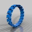 56832832ed64f6c9187e35546634fc6d.png Télécharger fichier STL gratuit Arthur Customized Flex Bracelet customisateur • Design imprimable en 3D, jp_math