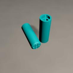 Untitled.png Download STL file Filter tip - Peace • 3D printer design, meliks