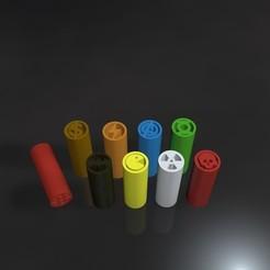 Download 3D model Pack filter tips - Geek, meliks
