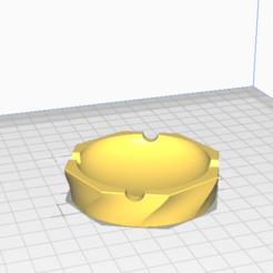 Download free STL file Ashtray • 3D printing template, meliks