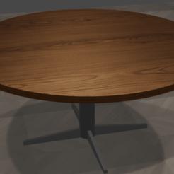 Impresiones 3D gratis mesa redonda, faustogarcilazo19