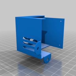 6a1b57dca284ed32ae857304800dbf1b.png Download free STL file CR-10 OEM - Hotend Fan Cover • Object to 3D print, 3dsketcha