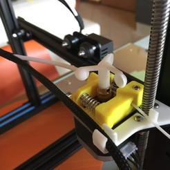 Download free 3D printer designs CR-10 Mod - Extruder Flag, 3dsketcha