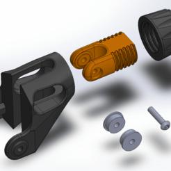 Untitled.png Télécharger fichier STL gratuit Ender 3 Pro Mod - Tendeur de l'axe Y • Plan pour imprimante 3D, 3dsketcha