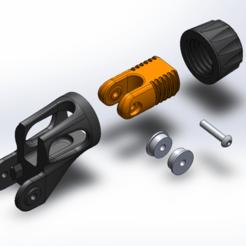 Untitled2.png Télécharger fichier STL gratuit Ender 3 Mod - Tendeur de l'axe Y • Plan pour impression 3D, 3dsketcha