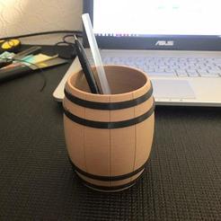 Descargar modelo 3D gratis Bricolaje de oficina - Portabolígrafos de madera, 3dsketcha
