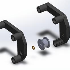 Belt_Straight.png Télécharger fichier STL gratuit CR-10 Mod - X Redresseur de courroie - Côté moteur • Modèle pour impression 3D, 3dsketcha