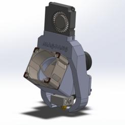 Download free STL file CR-10 Mod - Magneto Fang - OEM Fans • 3D print design, 3dsketcha