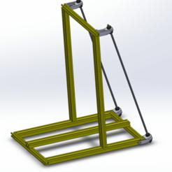 Immagine_001.png Download free STL file CR-10 Mod - Frame Braces • 3D print object, 3dsketcha