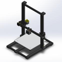 Descargar STL gratis CR-10 OEM - Modelo 3D completo, 3dsketcha