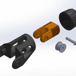Untitled.png Télécharger fichier STL gratuit CR-10 Mod - Tendeur de l'axe Y • Plan imprimable en 3D, 3dsketcha