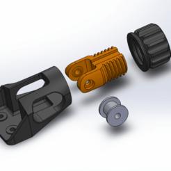 2019-03-08_20_08_58-SOLIDWORKS.png Télécharger fichier STL gratuit CR-10 S5 Mod - Tendeur de l'axe Y • Modèle imprimable en 3D, 3dsketcha
