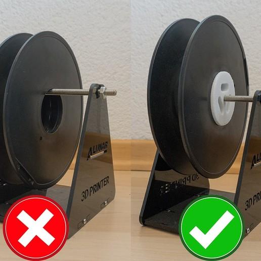 Télécharger fichier impression 3D gratuit Porte-filament, DaveMeyer